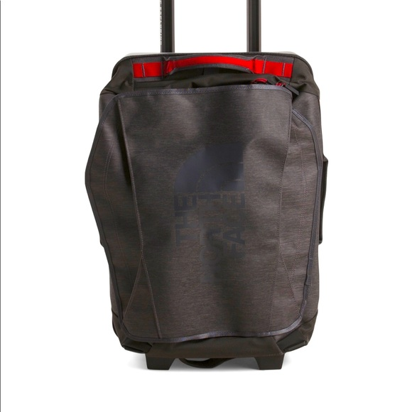 New:The North Face Duffle Bag Roller Bag black/red